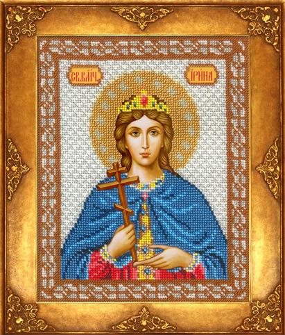 Набор для вышивания иконы бисером св наталья