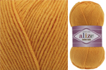 Пряжа Alize Cotton Gold (014) т. желтый